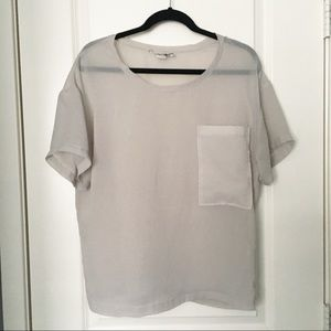 Helmut Lang Sheer Blouse